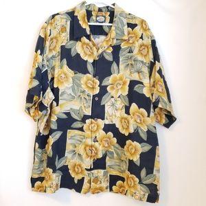 Tommy Bahama Mens Hawaiian Shirt XL